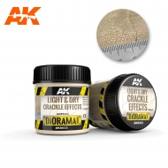 AK-8033 LIGHT & DRY CRACKLE EFFECTS - 100ml (Acrylic)