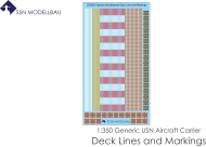 SSN-D35003 Generic Aircraft Carrier Deck Lines and Markings