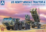 UA 72080 US HEMTT M983A2Tractor & Patriot PAC-3 in 1:72