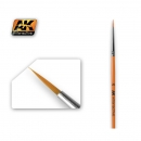 AK-602 ROUND BRUSH 2/0 SYNTHETIC