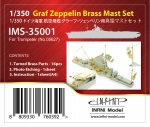 IMS-35001 DKM Graf Zeppelin Brass Mast SET